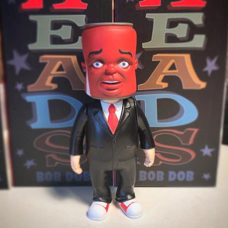 """Head Men """"Coke Head"""" by Bob Dob"""