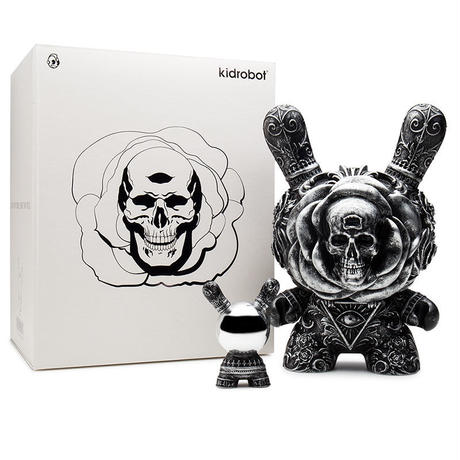 "parallel import / Arcane Divination The Clairvoyant 8"" Dunny - Silver by J*RYU"