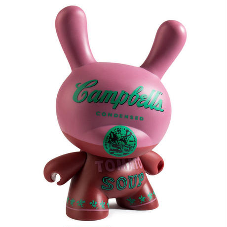 """Warhol 8"""" Dunny Masterpiece-Campbell's Soup"""