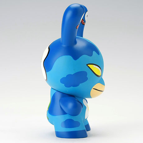 "Eggdrop - Blue 8"" Dunny by David Horvath"