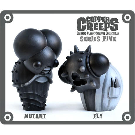 Copper Creeps Series 5 - Mutant and Fly by Doktor A