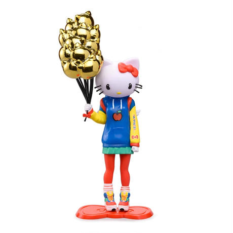 """parallel import / Hello Kitty 9"""" Art Figure by Candie Bolton"""