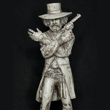 Alejandro Jodorowsky EL TOPO Statue
