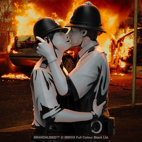 Banksy's Kissing Coppers