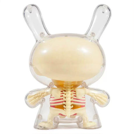 "The Visible 8"" Dunny by Jason Freeny"