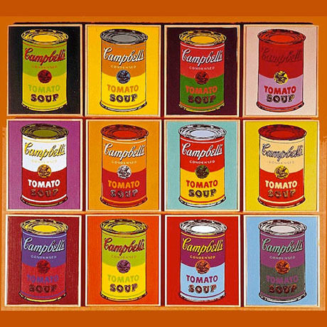 Campbell's Soup (purple) from Warhol Dunny Mini Series