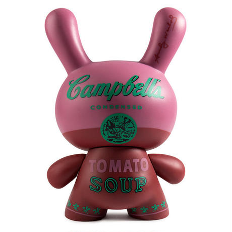 "Warhol 8"" Dunny Masterpiece-Campbell's Soup"