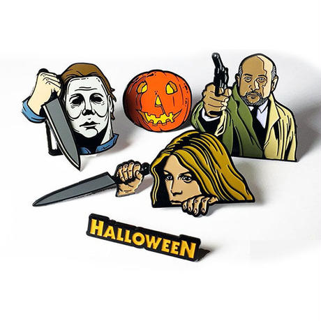 Halloween 6 Pin Collector's Set