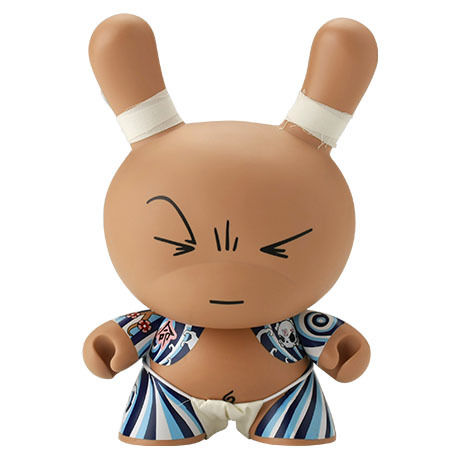 """Don Yoku 8"""" Dunny by Huck Gee"""