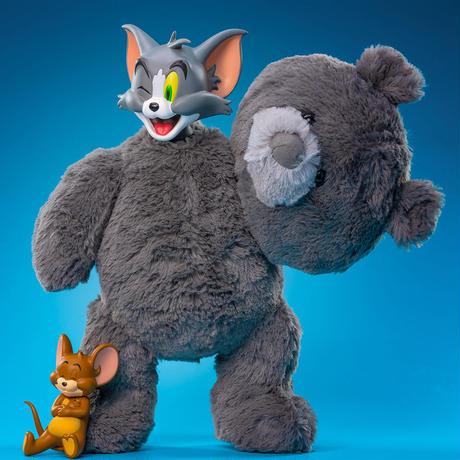 Tom & Jerry Plush Teddy Bear Figure