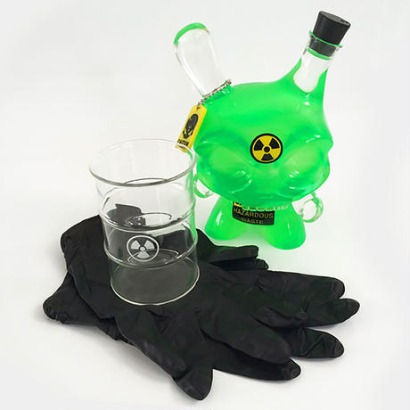 "The Hazardous Taste 8"" Dunny by Sket-One & Huck Gee (2014)"