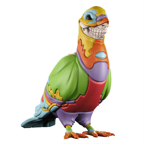 Grin pigeon by Staple X Ron English