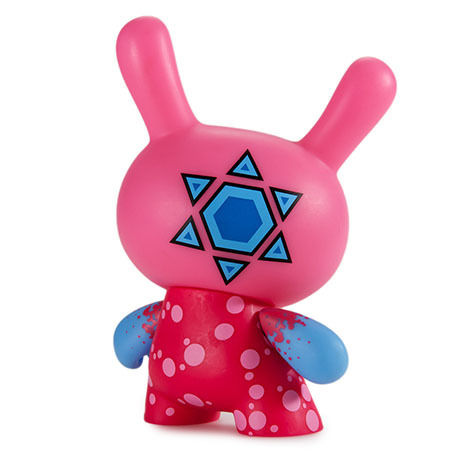 """Codename Unknown 5"""" Dunny Kidrobot Exclusive """"PINK"""" by Sekure D"""