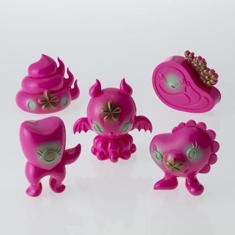 Octobat from Junkonotomo HappyPink edition by Junko Mizuno