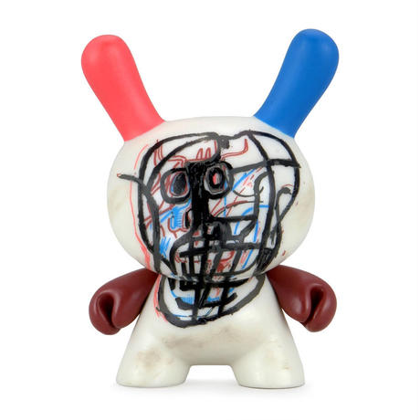 Basquiat Faces Dunny Mini Series (a case with 20 pieces)