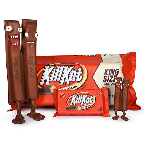 King Size KillKat - Milk Chocolate by Andrew Bell