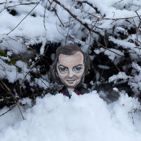 "Torrance family of ""The Shining"" art doll by dddalina"