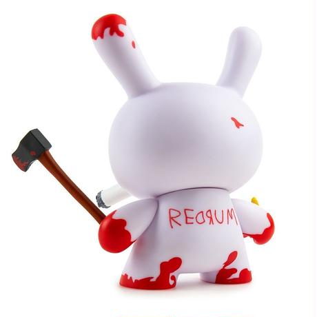 "Redrum 5"" Dunny by Frank Kozik"