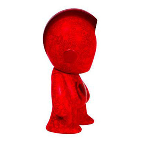 Kidrobot x (RED) x Keith Haring Mini Figure Art Toy 3-Inch
