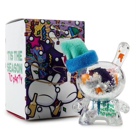 3inch Holiday Party Dunny by JEC