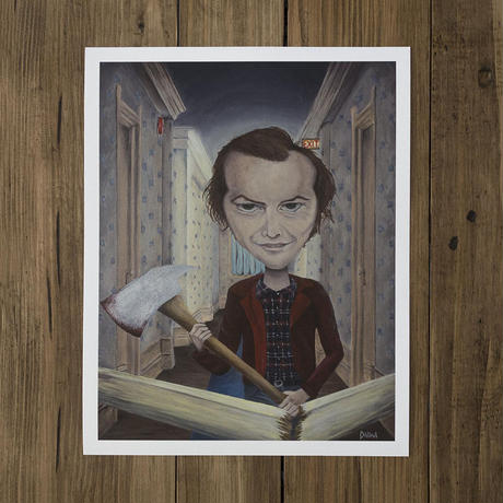 Jack Torrance - The Shining giclee print by dddalina (framed)