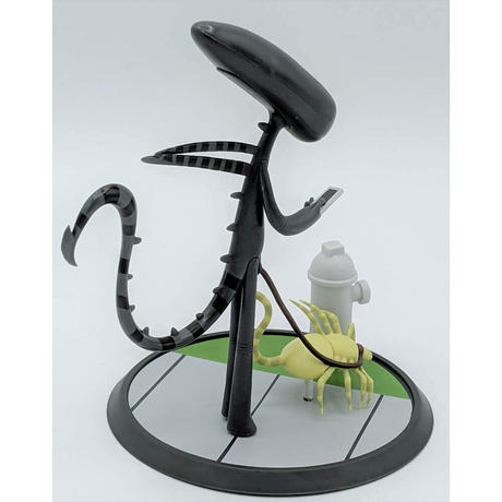 Alien Out for A Walk Collectible Figure by Joey Spiotto