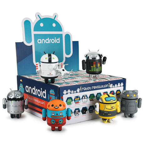 Android Mini Collectibles - Robot Revolution Series  (a case with 16 pieces)
