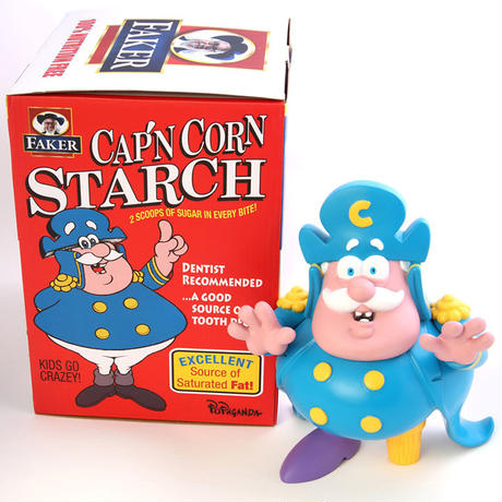 Cap'n Cornstarch - Crunch Berries Colorway by Ron English