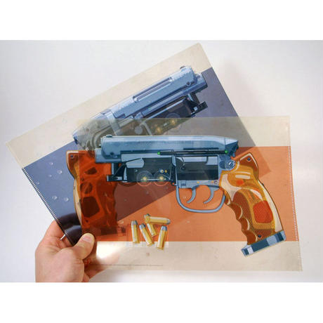 Tomenosuke Blaster Clear Folder Set by Jakob Staermose