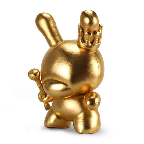 Gold King 20-inch Plush Dunny by Tristan Eaton