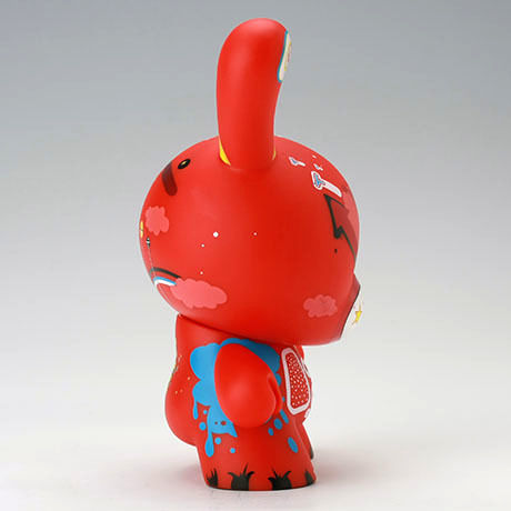 "Doma Red 8"" Dunny by Doma"