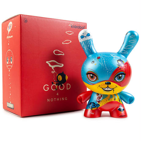"Good 4 Nothing 8"" Dunny by 64 Colors"