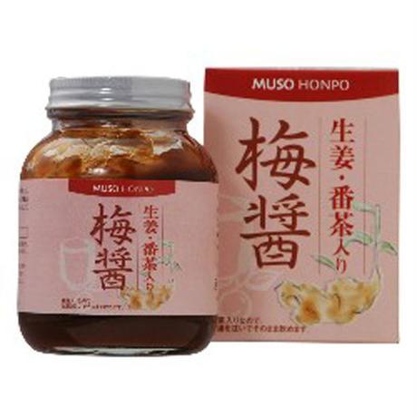 生姜・番茶入り 梅醤 250g