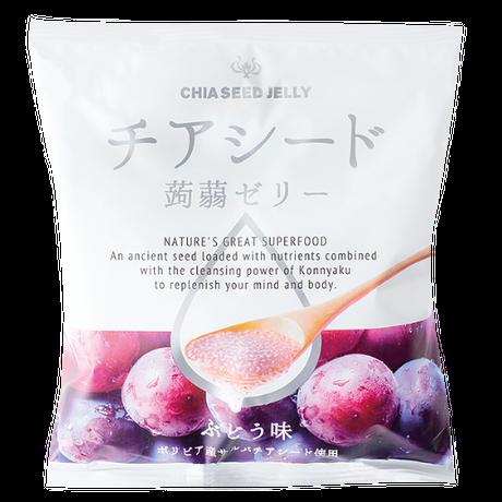 チアシード蒟蒻ゼリー ぶどう味 (1袋)