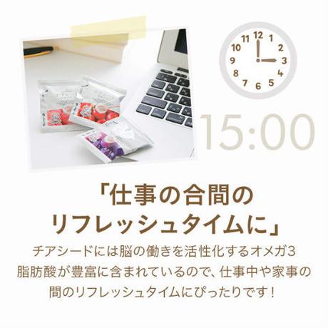 チアシード蒟蒻ゼリー りんご味 ( 1袋)