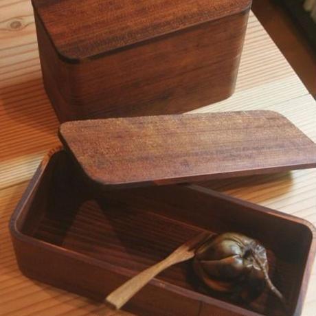 漆の弁当箱(1段・加工なしタイプ)