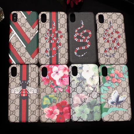 グッチ GUCCI iPhone iphoneX iPhone6 iPhone7 Plus iPhone8 Plus GGアイホン ケース スマホカバー アイフォン ケース かわいい