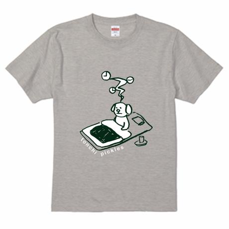 Tシャツ【眠れない】オートミール