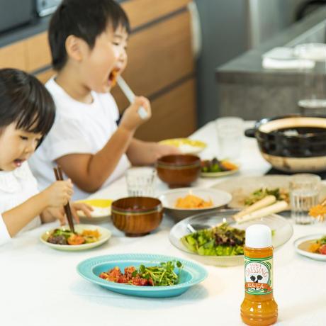 人参ドレッシング 1本/新鮮な生野菜をたっぷり使用した無添加の生タイプドレッシング