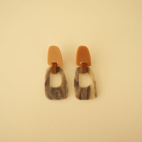 Acrylic Double Plate Pierce ( TW_P_14 )