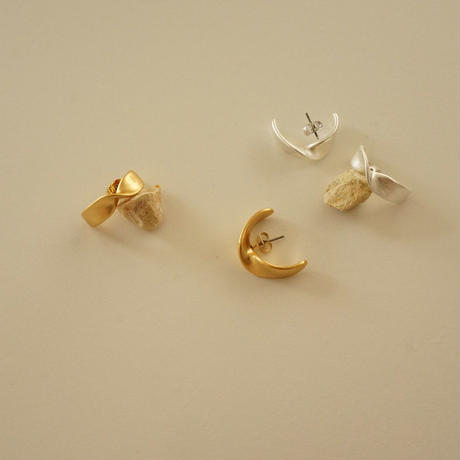 Twist Earcuff Pierce   ( TW_P_04 )