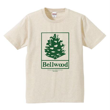 """高田漣 """"Bellwood Records × Just Folks""""T-Shirts ヘザーベージュ"""