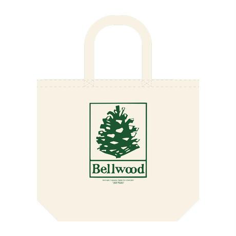 """高田漣 """"Bellwood Records × Just Folks""""トートバッグ ナチュラル"""