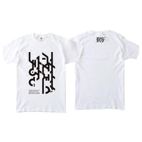 TORIENA's oneman live logo T-shirts (with TORIENA logo sticker)