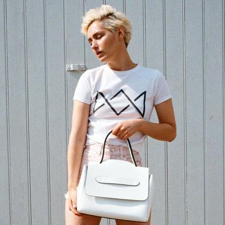 Hand bag/AI-FLO-01/White