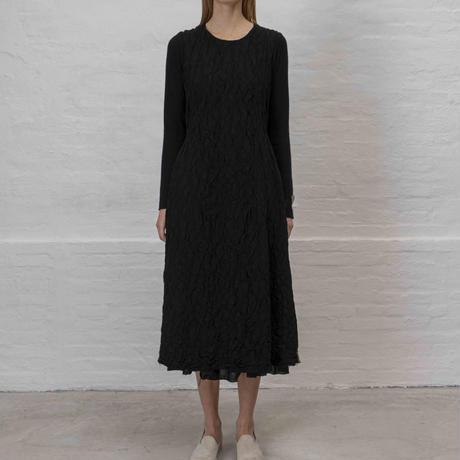 Lady'sウール&カシミヤニットドレス/HannohWessel 40