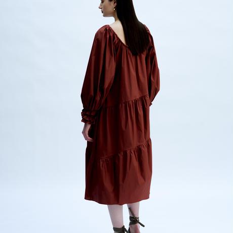 TEIJA/ドレス/コットンサテン・Blushing