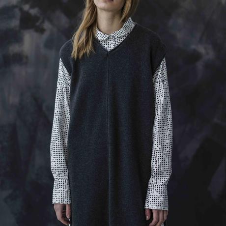 HANNOH WESSEL/カシミヤ100%ニットドレス