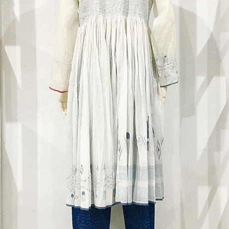 injiri-ベーシックドレス/ ホワイトベース/E2240