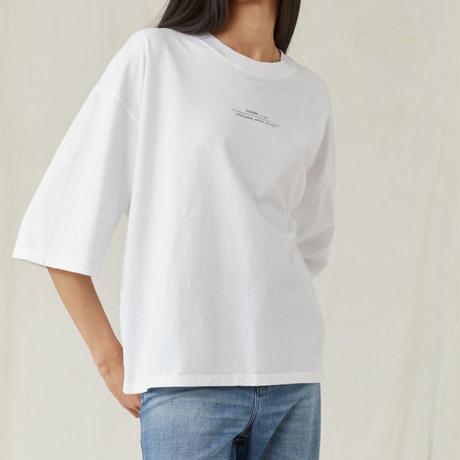 CLOSED/シンプルロゴTシャツ/ホワイト